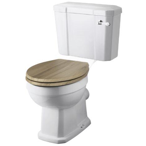 """main image of """"Toilette WC rétro ABBOTT en céramique - Céramique"""""""