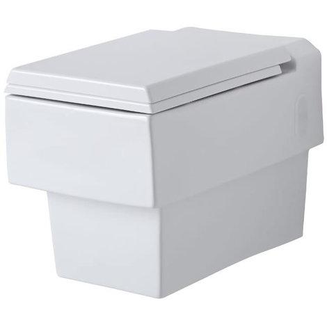 Toilette WC Suspendu 44 x 41 x 34cm Haldon