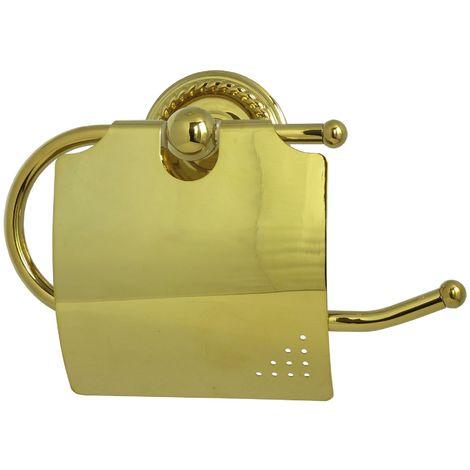 Toilettenpapier Gold Retro Halter Klopapierhalter Rollenhalter Wandhalterung Messing Nostalgie Papiehalter Papier Rolle