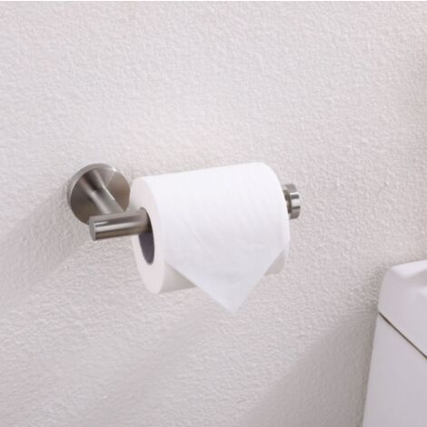 Toilettenpapierhalter aus Edelstahl (gebürstet)