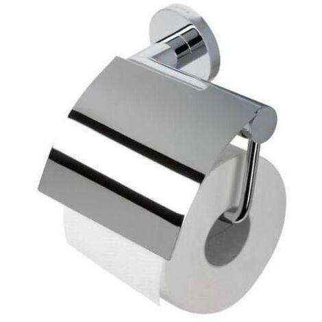 Toilettenpapierhalter Klopapier-Rollenhalter WC-Papierhalter chrom GEESA Circles