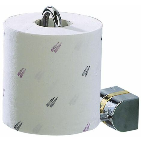 Toilettenpapierhalter Klopapierhalter WC Papierhalter Chrom glänzend Tiger Cria