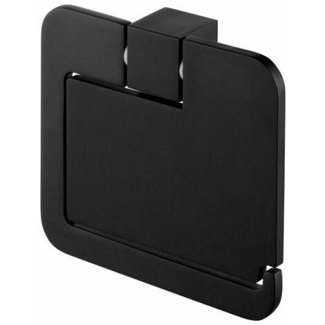 Toilettenpapierständer-Rollenhalter Klappe Modernes WC Schwarz
