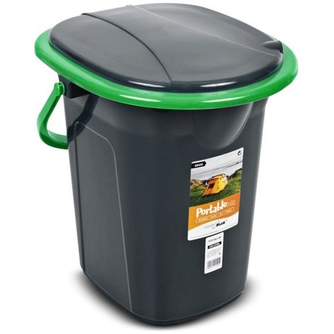 Toilettes ne GreenBlue GB320BG noir-vert