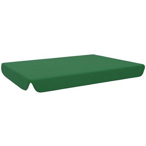 Toit de rechange pour balançoire de jardin Vert 192x147 cm