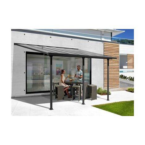 Toit terrasse aluminium 12.39 m2