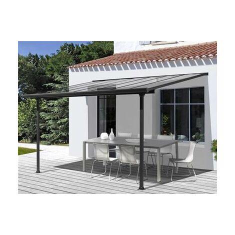 Toit terrasse aluminium 8.94 m2