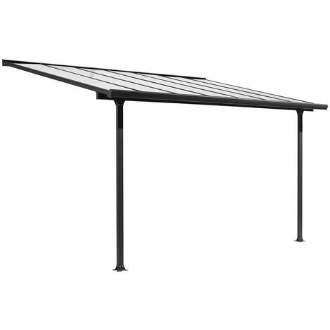 Toit terrasse aluminium 9,21 m²