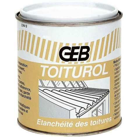 Toiturol: relleno reparador de litumlux, lata 900 ml