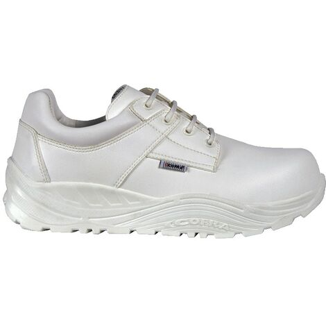 Tokui White Safety Trainers