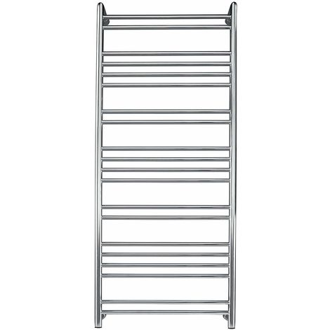 Tokyo Designer Stainless Steel Electric Towel Rail Towel Warmer Mirror Polished Finish