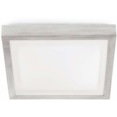TOLA-1 Lampada a soffitto plafoniera quadrata grigio opaco FARO 62983