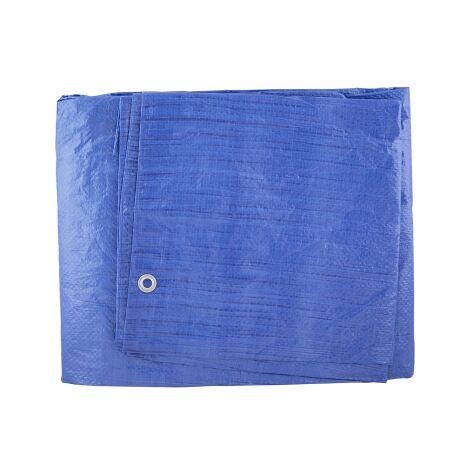Toldo azul de polietileno 4x6m. (GSC 3300126)