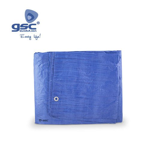 Toldo de Polietileno Azul 4x6M