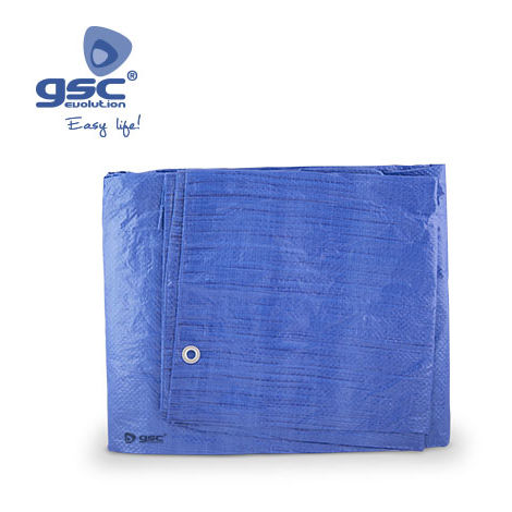 Toldo de Polietileno Azul 5x8M