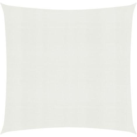Toldo de vela blanco HDPE 160 g/m2 3x3 m