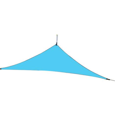 Toldo de vela con parasol resistente a los rayos UV, para actividades al aire libre,Verde oscuro, 6x6x6M
