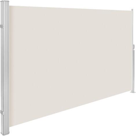 """main image of """"Toldo lateral de aluminio - marquesina lateral para terraza, toldo extensible de jardín con enrollado automático, lona lateral enrollable para patio"""""""