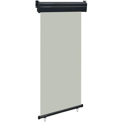 Toldo lateral de balcon gris 100x250 cm