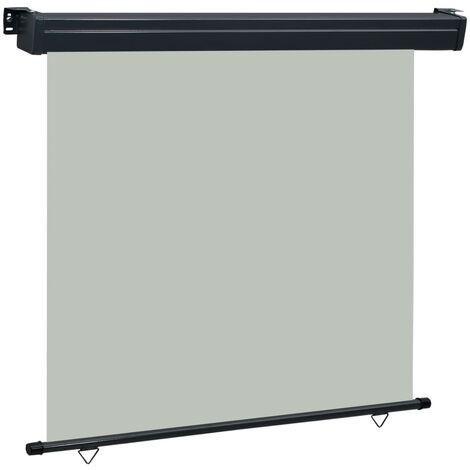 Toldo lateral de balcón gris 160x250 cm