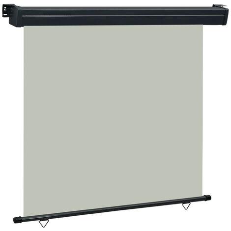 Toldo lateral de balcon gris 160x250 cm