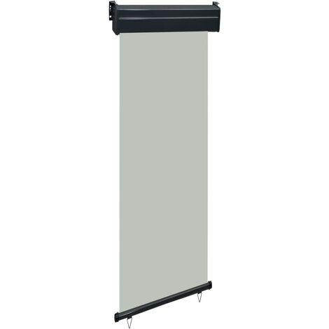 Toldo lateral de balcón gris 60x250 cm