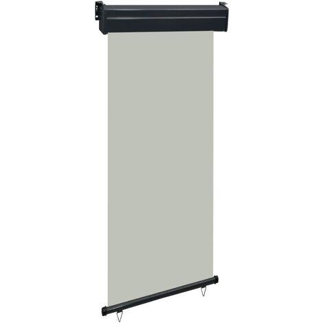 Toldo lateral de balcon gris 80x250 cm