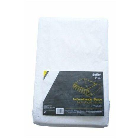 Toldo Multiuso Reforzado 04X05Mt 115G/M2 Polietileno Bl Nivel