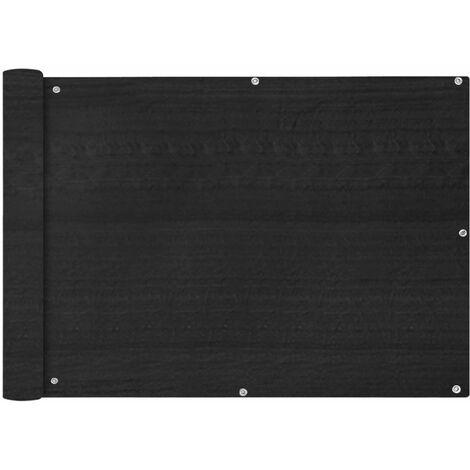 Toldo para balcon HDPE 75x600 cm gris antracita