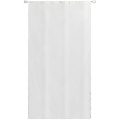 Toldo para balcon tela oxford 140 x 240 cm blanco
