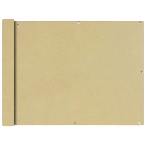 Toldo para balcon tela oxford 90x400 cm beige