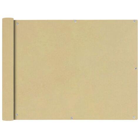 Toldo para balcón tela oxford 90x600 cm beige