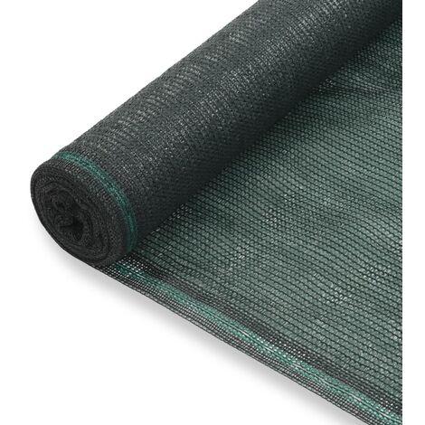 Toldo para pista de tenis HDPE 2x50 m verde