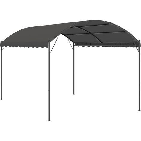 Toldo parasol gris antracita 3x4 m