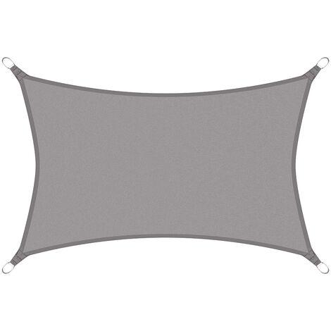 Toldo rectangular Protección solar Protección UV Vela de sombra repelente al agua