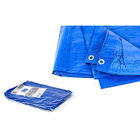 Toldo reforzado multiusos azul 120 gr.
