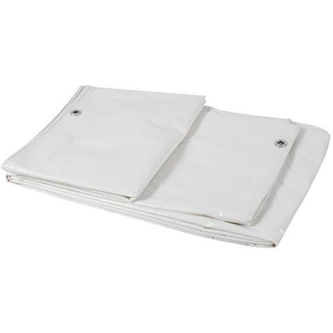 Toldo reforzado multiusos blanco 120 gr.