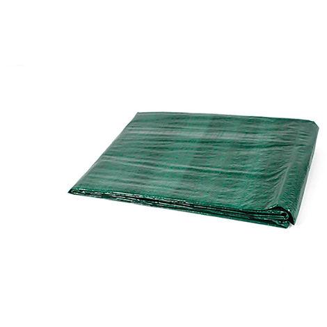 Toldo reforzado multiusos verde 120 gr.
