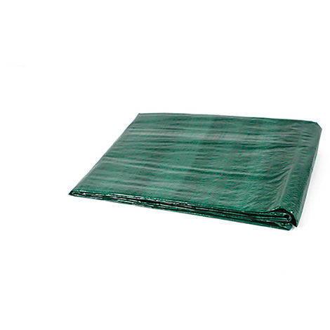 Toldo reforzado multiusos verde 90 gr.