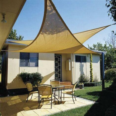 Toldo sombra triangular - varias tallas disponibles