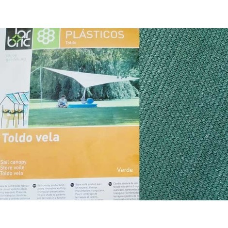 Toldo Vela Triangular Garbric