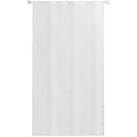 Toldo vertical tela oxford blanco 140x240 cm