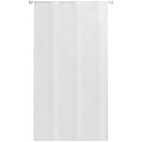 Toldo vertical tela oxford blanco 140x240 cm - Blanco