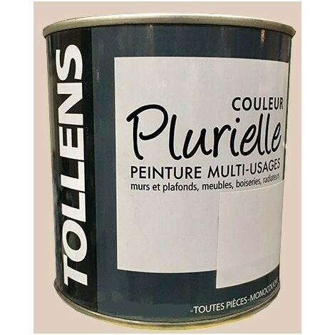 """TOLLENS Peinture acrylique multi-usages """"Couleur Plurielle"""" mat Délicate - 0,5 L"""