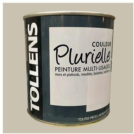 """TOLLENS Peinture acrylique multi-usages """"Couleur Plurielle"""" mat Raffinée - 2,5 L"""