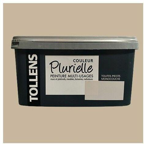 """TOLLENS Peinture acrylique multi-usages """"Couleur Plurielle"""" satin Chic - 2,5 L"""