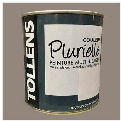 """TOLLENS Peinture acrylique multi-usages """"Couleur Plurielle"""" satin Distinguée - 3L"""