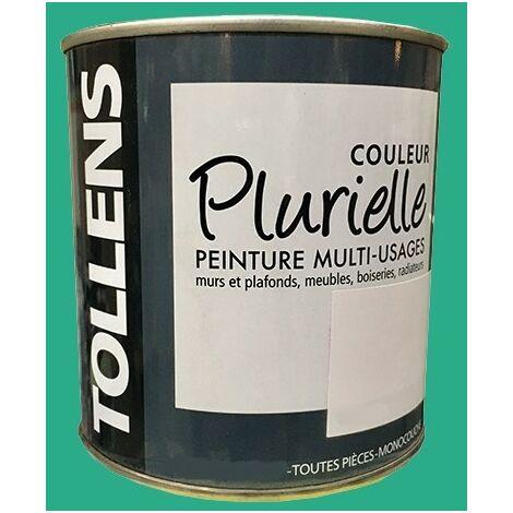 """TOLLENS Peinture acrylique multi-usages """"Couleur Plurielle"""" satin Energique - 0,5 L"""
