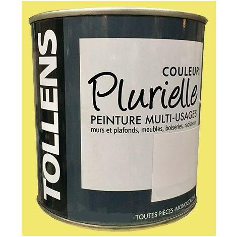 """TOLLENS Peinture acrylique multi-usages """"Couleur Plurielle"""" satin Enjouée - 2,5 L"""