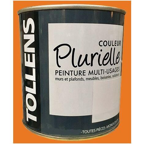 """TOLLENS Peinture acrylique multi-usages """"Couleur Plurielle"""" satin Vitaminée - 2,5 L"""